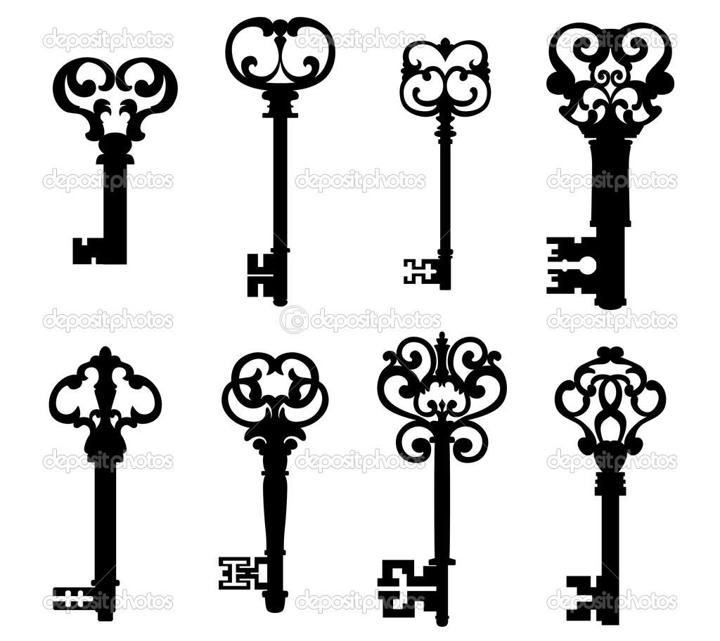 Изобр по Старинный Ключ Рисунок