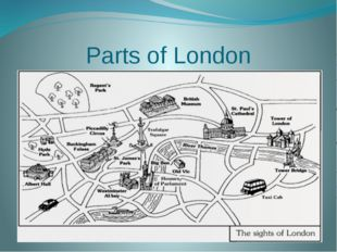 Parts of London