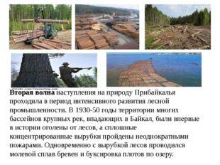 Вторая волна наступления на природу Прибайкалья проходила в период интенсивно