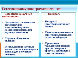 План функциональной грамотности определил 3 области: Естественнонаучная грам