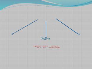 Задача на движение на работу на проценты S=v ∙ t А=V∙t ( на смеси и сплавы)