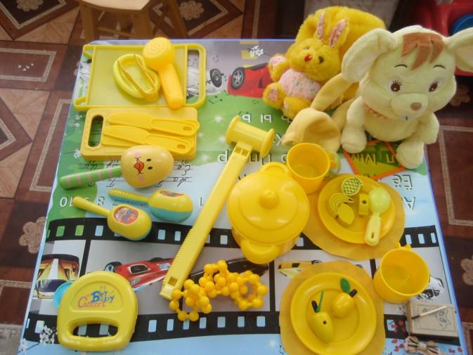 Цветотерапия. Знакомство с желтым цветом. Фотоотчет