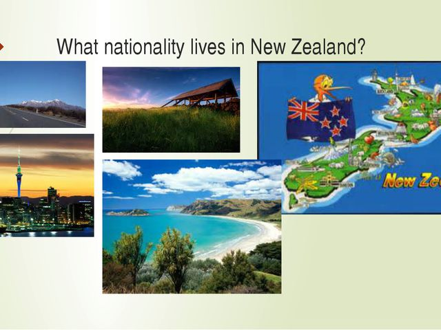 What nationality lives in New Zealand?