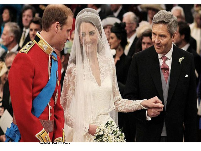 An estimated two billion people watched the wedding across the world and 24 m...