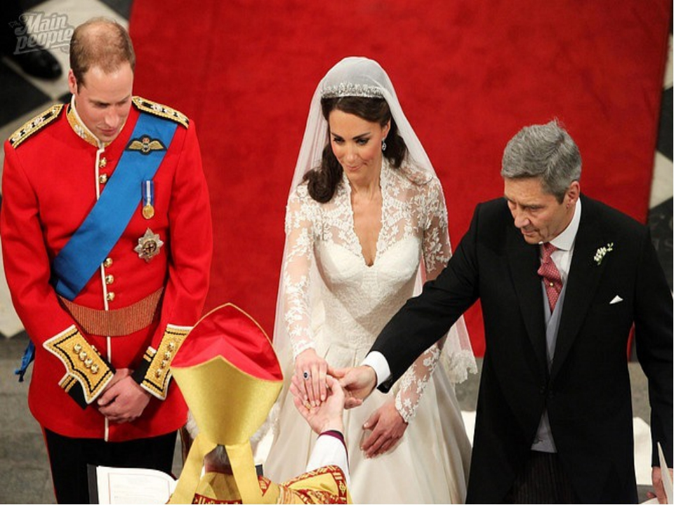 The wedding of Prince William, Duke of Cambridge, and Catherine Middleton too...