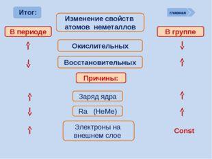 ? Химические свойства неметаллов Неметаллы способны: Сl2 + Н2О = НСl + НСlO -