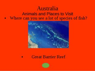 Australia Animals and Places to Visit What animal is a symbol of Tasmania? Ta