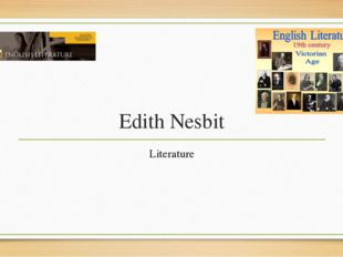 Edith Nesbit Literature