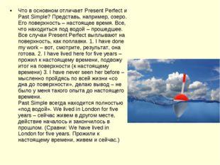 Что в основном отличает Present Perfect и Past Simple? Представь, например, о