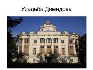 Усадьба Демидова