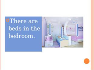 There are beds in the bedroom.