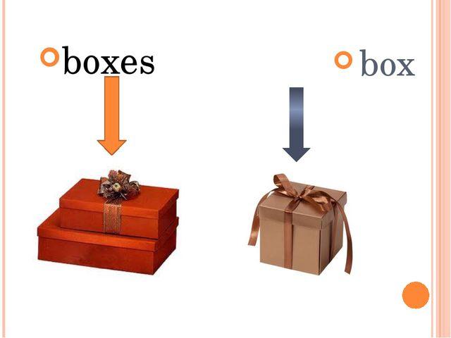 boxes box