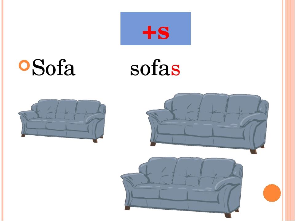 +s Sofasofas