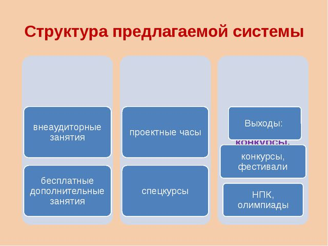 Структура предлагаемой системы