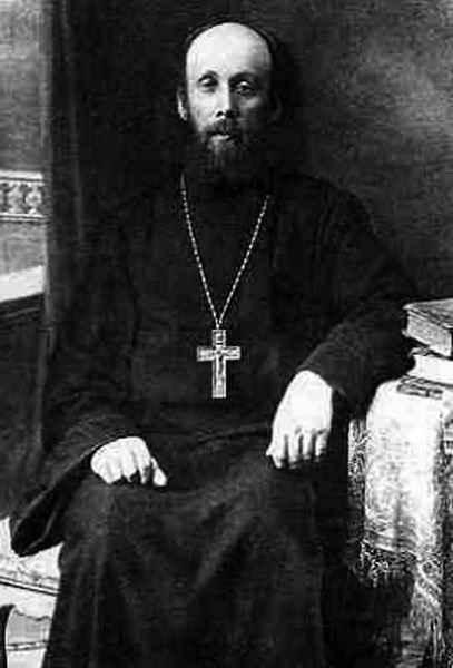 Отец Николай Пискановский до ареста. 1920-е гг.