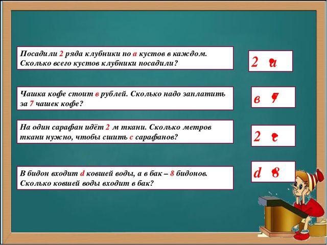 Конспект урока математики 2 класс умножение числа