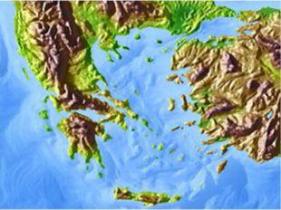 Древнейшая Греция Грецией называют юг Балканского полуострова с прилегающими