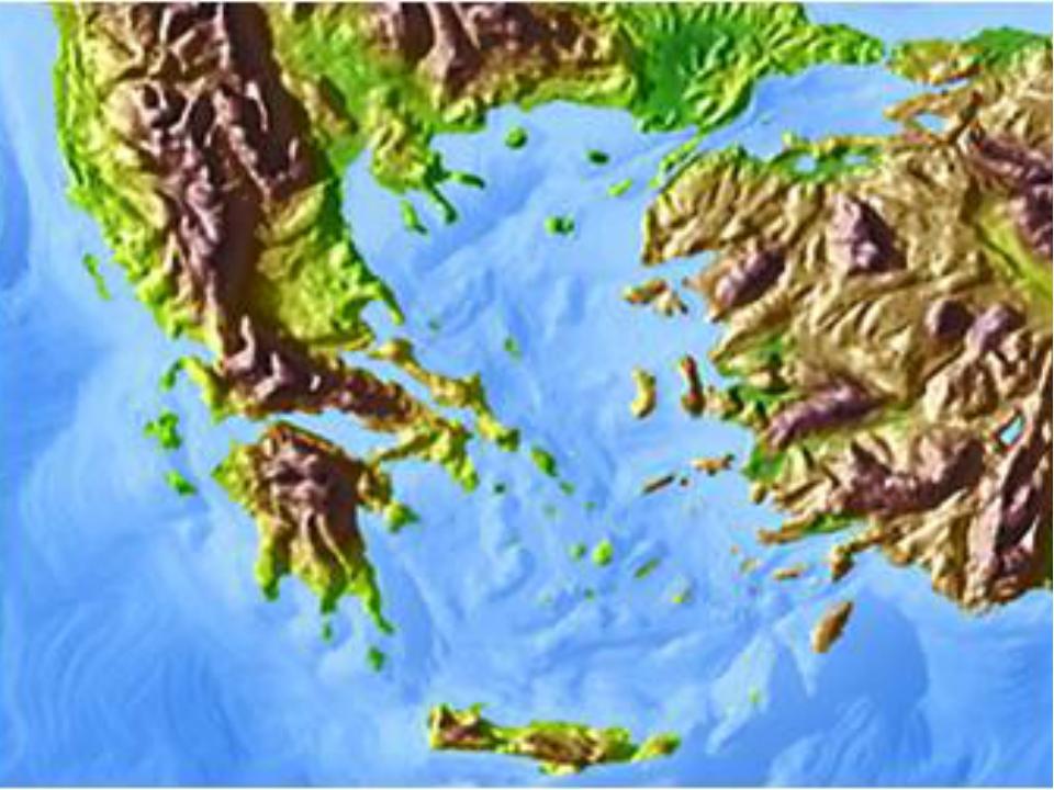 Древнейшая Греция Грецией называют юг Балканского полуострова с прилегающими...