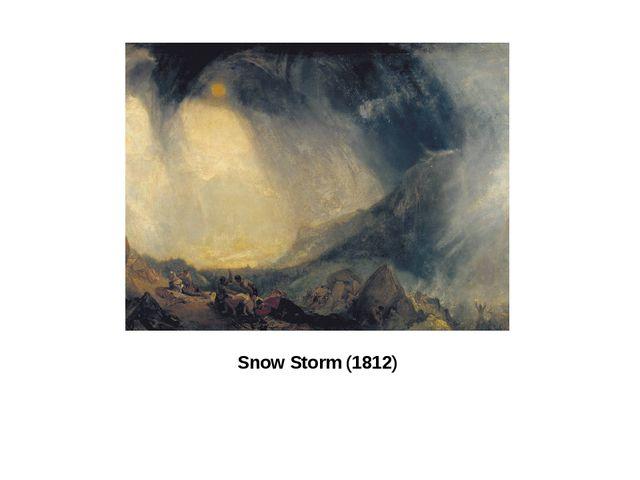 Snow Storm (1812)