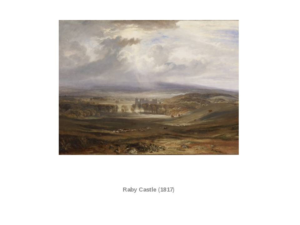 Raby Castle (1817)