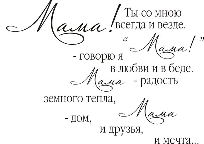 Фразы для поздравления с днем рождения маме