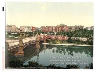 МОУСОШ №51 города Тулы Учитель начальных классов Голубева Светлана Вячеславовна