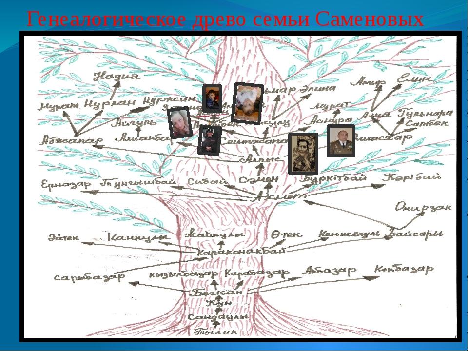 Генеалогическое древо семьи Саменовых