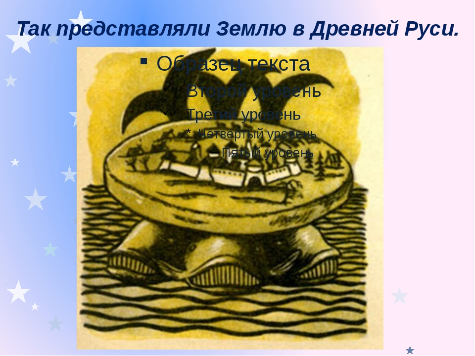 Так представляли Землю в Древней Руси.