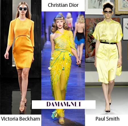 Модные цвета весны-лета 2013