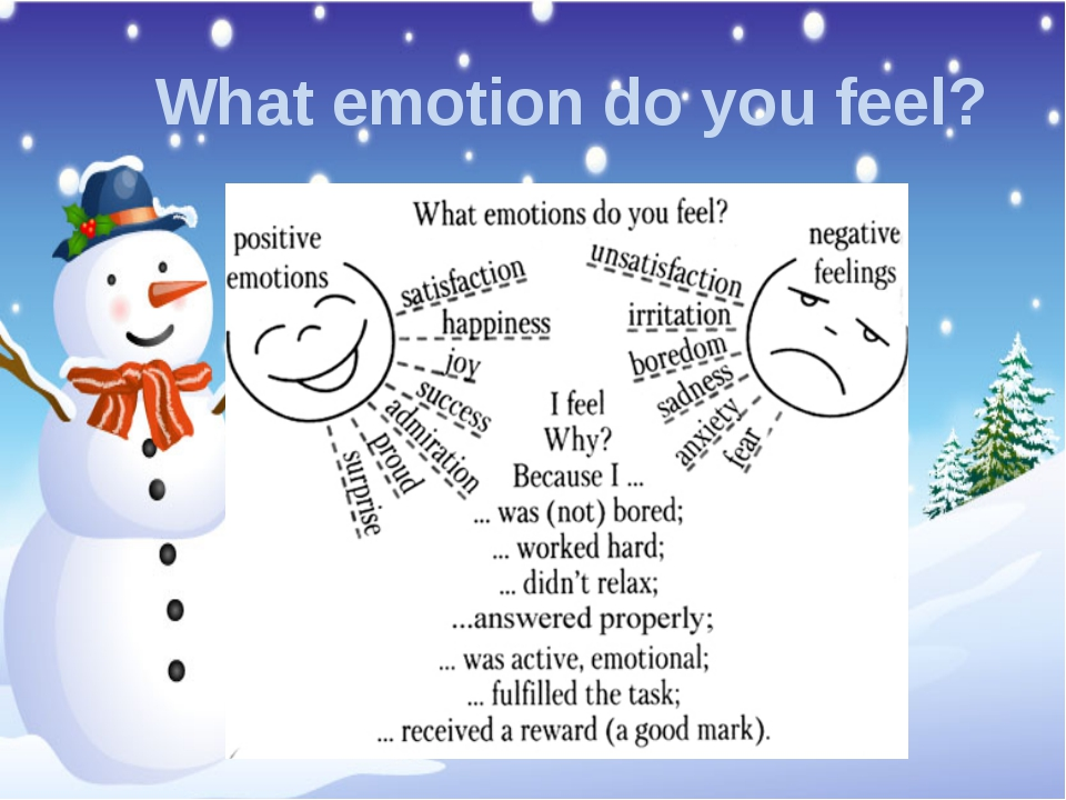 What emotion do you feel?