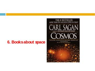 6. Books about space