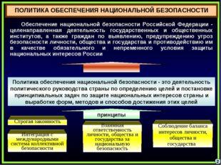 2 Обеспечение национальной безопасности Российской Федерации - целенаправленн