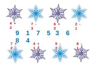 4 + 2 7 - 3 6 + 2 2 - 1 7 + 2 4 + 1 5 - 2 8 - 1 9 1 7 5 3 6 8 4