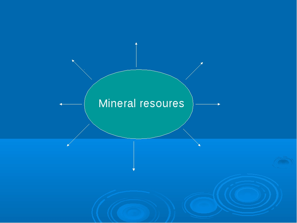 Mineral resoures