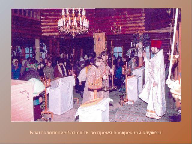 Благословение Крестом прихожан. День освящения семян перед посадкой в почву