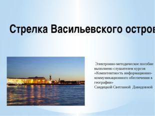 Электронно-методическое пособие выполнено слушателем курсов «Компетентность