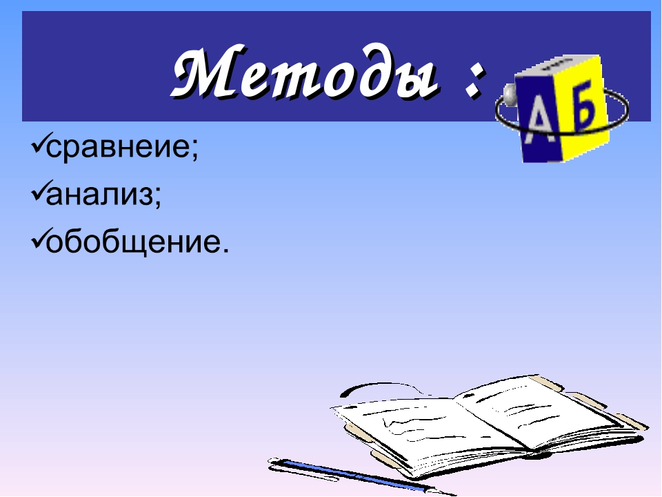 Методы :