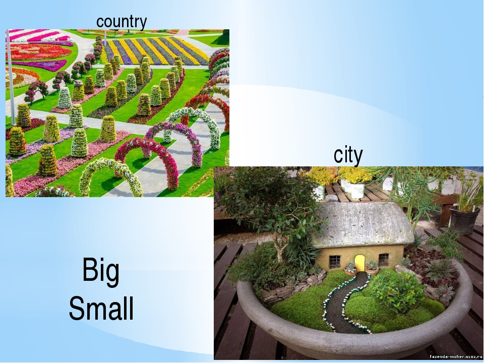 country city Big Small