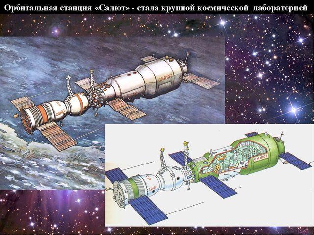Орбитальная станция «Салют» - стала крупной космической лабораторией