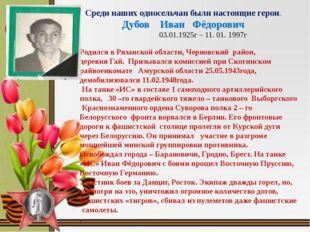 Родился в Рязанской области, Черновский район, деревня Гай. Призывался комис