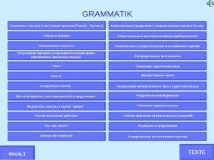 GRAMMATIK Спряжение глаголов в настоящем времени (Präsens - Презенс) Сильные