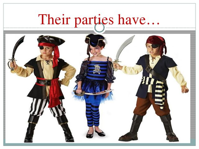 Their parties have…