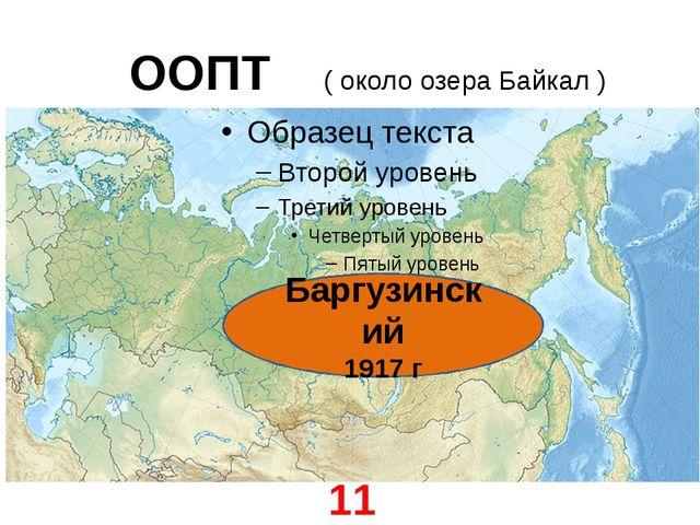 ООПТ ( около озера Байкал ) Баргузинский 1917 г 11 января