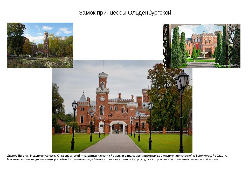 Замок принцессы Ольденбургской Дворец Евгении Максимилиановны Ольденбургской...