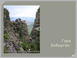 Гора Бобырган.
