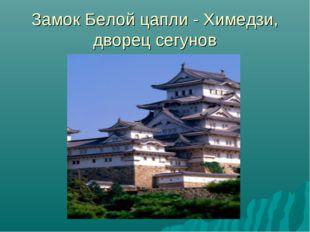 Замок Белой цапли - Химедзи, дворец сегунов