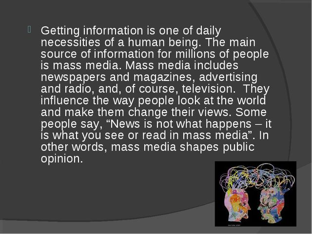 Getting information is one of daily necessities of a human being. The main so...