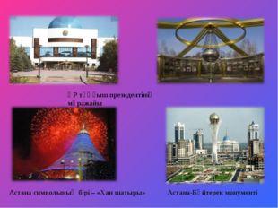 ҚР тұңғыш президентінің мұражайы Астана символының бірі – «Хан шатыры» Астана