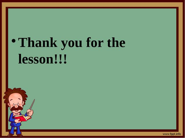 Thank you for the lesson!!!
