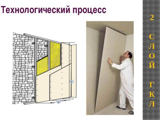 Технологический процесс 2 С Л О Й Г К Л